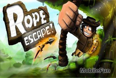Rope Escape (Побег на Веревке)